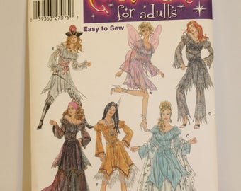 Simplicity 5363 Women's costume pattern for sizes 6-12
