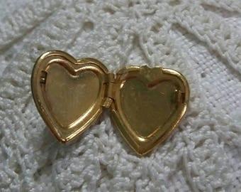 Heart Locket Lapel Tack Pin
