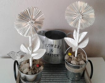 Book Sculpture, Book Art, Book Page Art, Sunflowers, Paper Flowers, Sunflower Decor, Gift for Her, Gift for Gardener, Garden Flowers