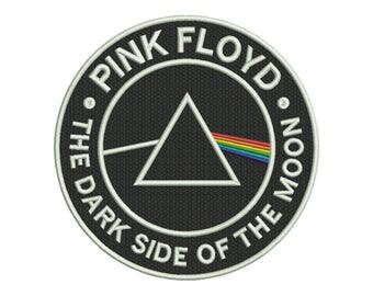Pink Floyd Dark Side of the Moon Embroidery Design - 4 SIZES