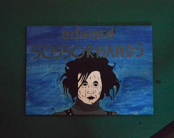 Edward Scissorhands painting (SALE)