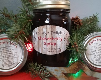 Made in Montana Chokecherry Syrup