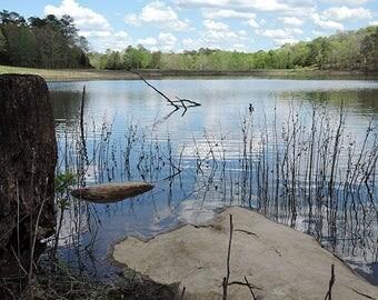 Lake in Tishomingo