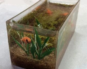Fish Tank with Goldfish