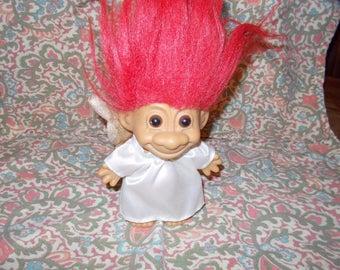 Angel Troll Doll by Russ