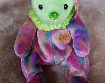 Ty Beanie Babies August Birthday Bear