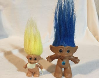 Russ Baby Troll, and Ace Treasure Troll.