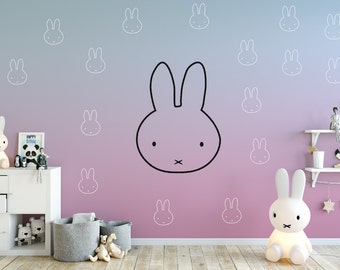 Miffy inspired wall Decals (15 pack)