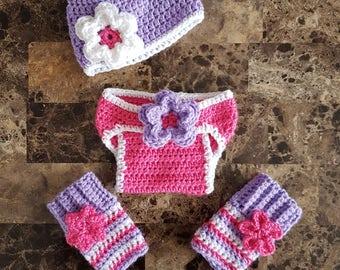 Newborn diaper cover set