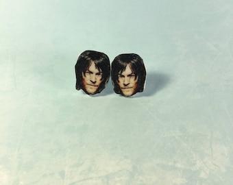 Daryl Dixon Stud Earrings
