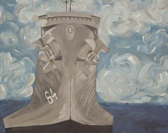 US Battleship Underway
