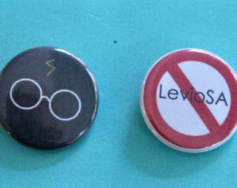 Harry Potter Iconic 1.25 in Buttons