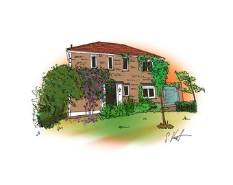 House: Hand Drawn Homes