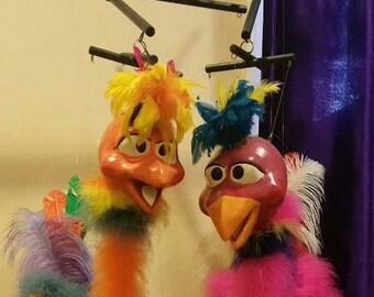 Birds marionette