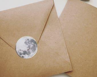 Full moon stickers / full-moon stickers / 15 PCs. / 15 PCs.