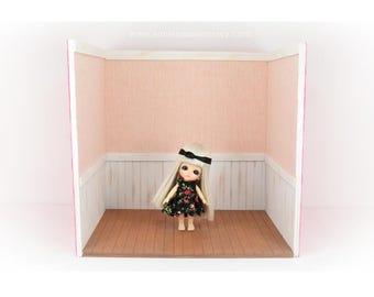 Free shipping -  Doll House Room design By SmileSeason.Macy  blythe lati bjd
