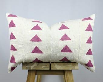 African Mudcloth Pillow Cover, Decorative Pillow