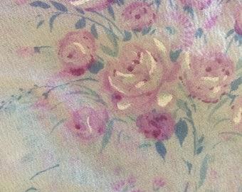 Girls Printed Ballet Wrap Skirt - Purple Floral