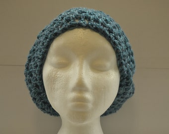 Crocheted Slouchy Hat/Beret