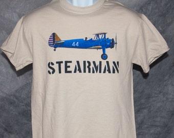 Vintage Stearman tee   FREE SHIPPING