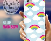 Blue Rainbows iPhone 6s case iPhone 7 Plus case iPhone 6 case 5s 5c kawaii case