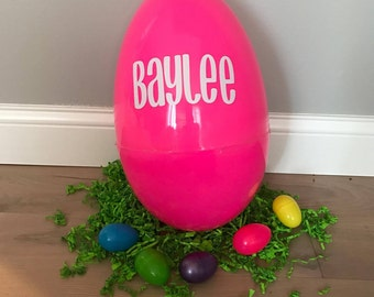 Plastic Easter Eggs - Personalized