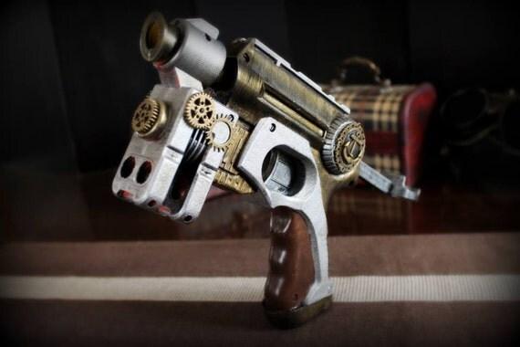 Steampunk gun typeA pistola by ProgettoSteam steampunk buy now online