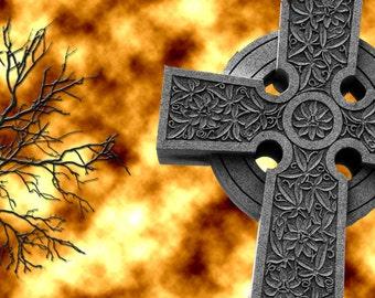 Gothic Cross - Cross Stitch Chart