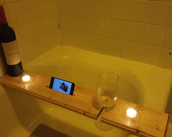 Bath Tub Wine Caddy Tray
