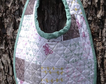 Quilted Baby Bib