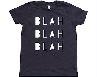 Blah Blah Blah Toddler Shirt