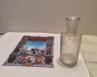 HP & WC Taylor Perfumes early 1800s
