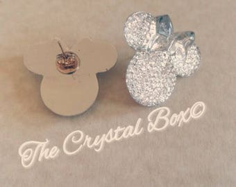 Party mouse stud earrings