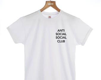 Brooklyn Beckham Anti Social Social Club Tshirt - Fashion, Slogan t-shirt, Clothing, Men's t-shirt, Ladies t-shirt, Men's gift, Ladies gift