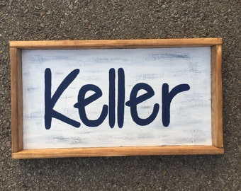 Wood Sign - Customized name, Nursery Sign, Kids Name Sign, Customized Nursery Sign, Wood Custom Sign