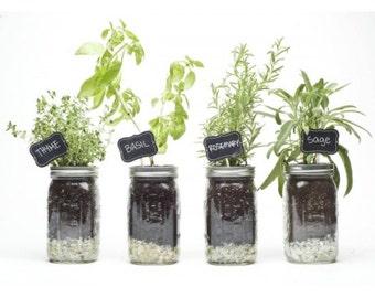Mason Jar Herb Kit
