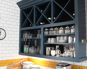 Handmade Wine and Storage unit