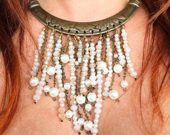 Stiff Necklace Boho Chic