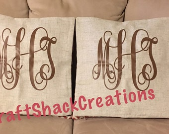 Decorative throw pillow cases
