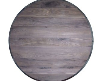 Solid wood walnut round table top restaurant table top FREE SHIPPING to USA and Canada