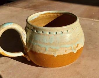 Drippy Cream Mug