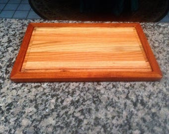 Solid Red Oak and Cherry Cutting Board