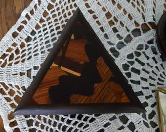 Terry Hansen Inlay Triangle Box