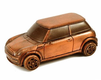 """Car Chocolate Gift """" MINI COOPER"""" / Handmade Gift/for Him/ for Her/Mechanic/Dad/Husband/Brother/Boyfriend"""