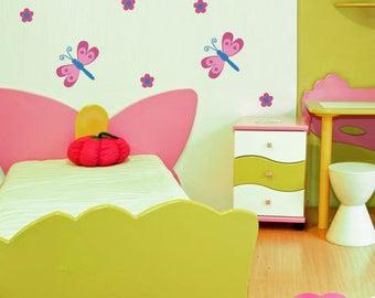 Dragonflies Nursery Wall Decal