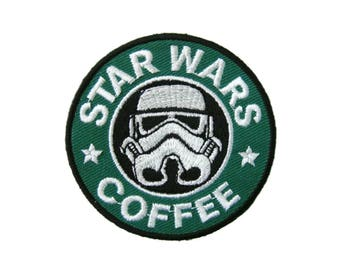 Imperial Stormtrooper Star Wars Patches Applique Embroidered Iron on Patch