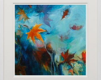 Autumn, limited edition art print by Camilla Grace Vascon