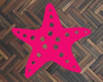 Starfish decal Starfish sticker Starfish car decal  Nautical decal Nautical sticker Nautical car decal Custom decal Star fish Summer decal