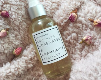 Soothing Rosewater & Camomile Spritzer