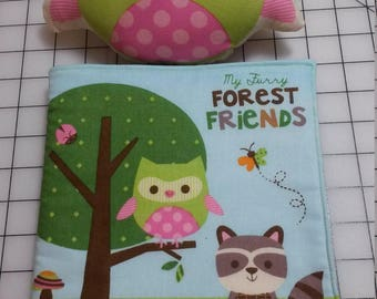 Cloth Baby Book - Forest Friends
